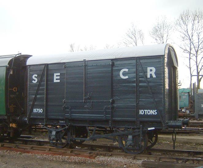 Bluebell Railway Wagons
