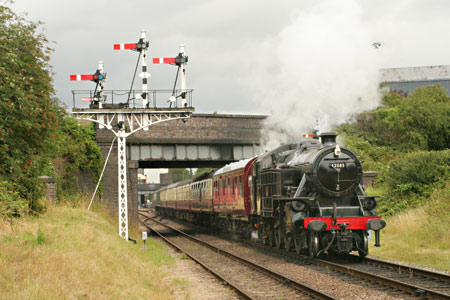 42085 at the Great Central Railway - Creative Commons Attribution ShareAlike 2.0 License - Duncan Harris - 19 Jul 2009