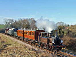 Fenchurch with mixed train - Derek Hayward - 21 Feb 2009