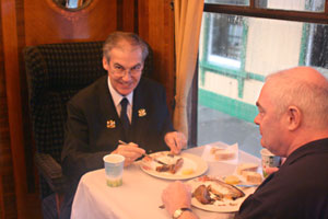 Kippers on the Brighton Belle - 24 October 2009 - Tony Sullivan