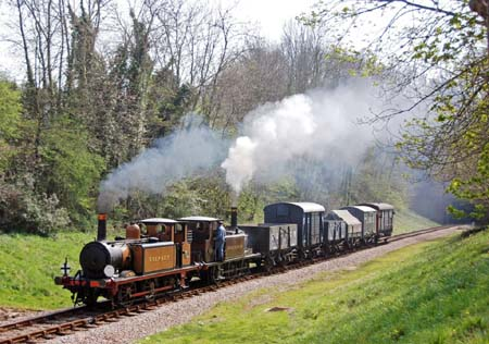 Fenchurch and Stepney at West Hoathly - 14 April 2007 - Derek Hayward
