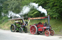 Showmans Engines at Horsted Keynes - 16 August 2008 - David Chapell