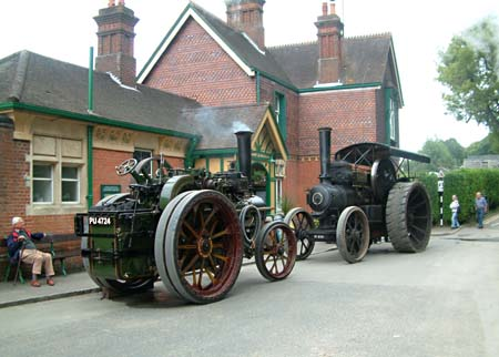Traction Engines at Horsted Keynes - 16 August 2008 - David Chapell