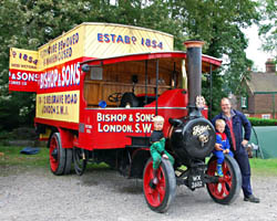 Vintage Weekend - Foden steam lorry - 15 August 2009 - Derek Hayward