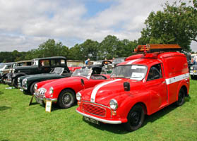 Vintage Weekend - PO Van and cars - 15 August 2009 - Derek Hayward