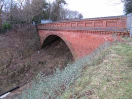 Spoil under Imberhorne Lane Bridge - 26 Jan 2009 - Paul Robinson