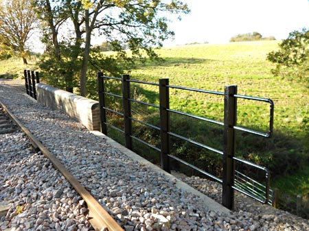 New railings on Cattle Creep - John Sisley - Nov 12