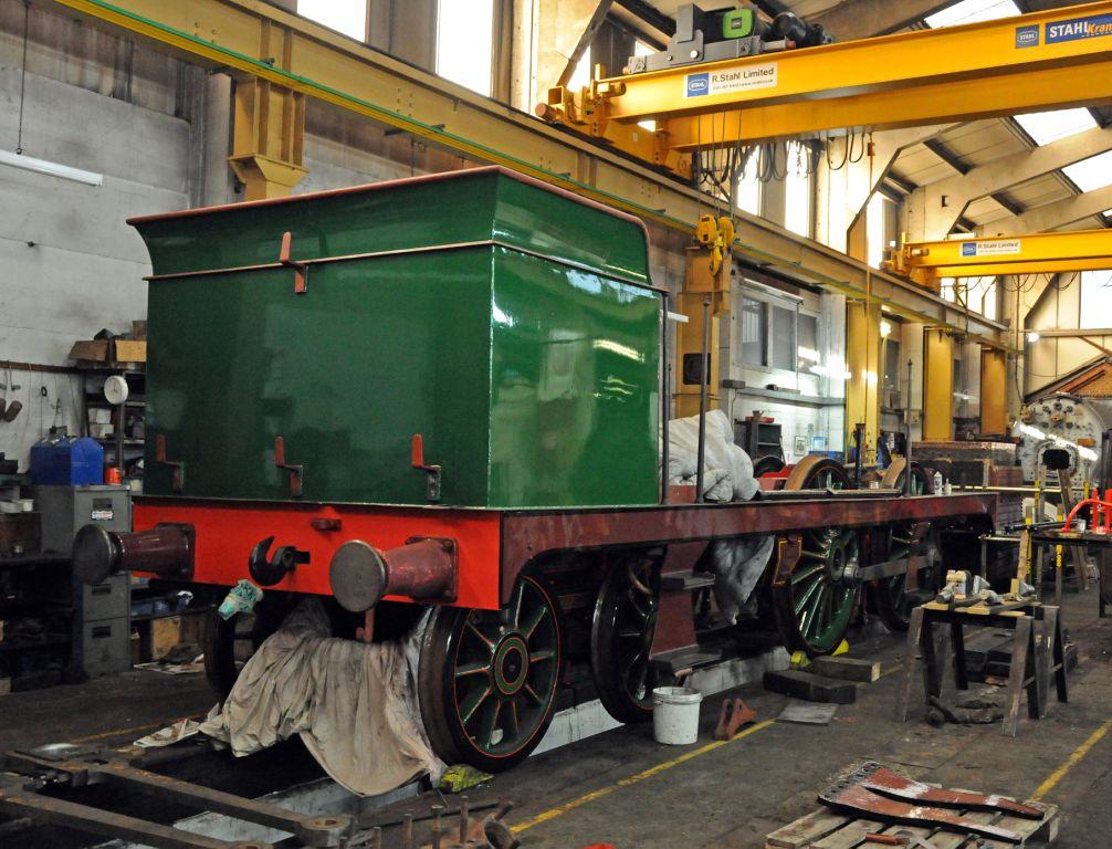 Bluebell Railway Locomotive Works News H