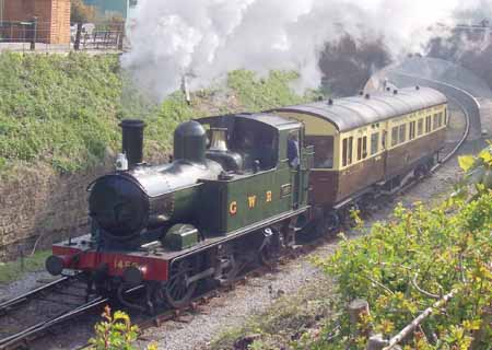 1450 at Llangollen with autocoach 178 - 20 Apr 2007 - David Hennessey