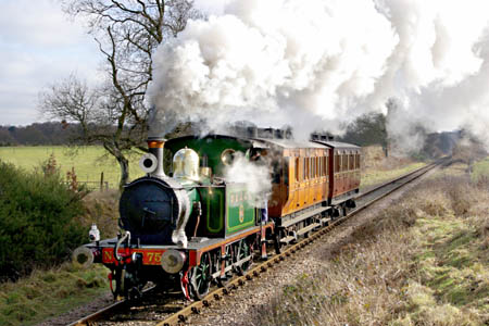 No.753 with P-class Special - David Haggar - 7 Feb 2009