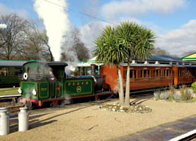 No.753 at Horsted Keynes - David Haggar - 7 Feb 2009