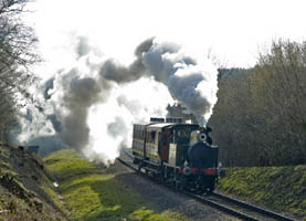No.753 with P-class Special - Martin Lawrence - 7 Feb 2009