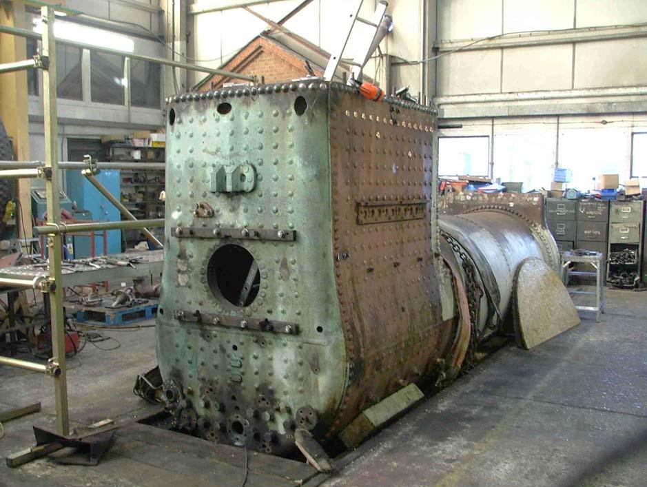 Spare Boiler for Bluebell Railway Locomotive - SECR 592
