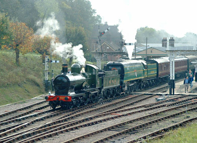 Busy scene at Horsted Keynes - Andrew Strongitharm