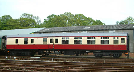 35207 on arrival at Horsted - 5 May 2014 - David Chappell