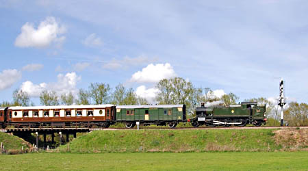 5199 with the Sussex Belle - 1 May 2008 - Derek Hayward