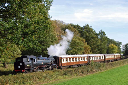 80151 with Sussex Belle - Derek Hayward - 10 October 2008