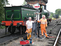 SP Shunt Signal - 23 July 2008 - Alan Grove