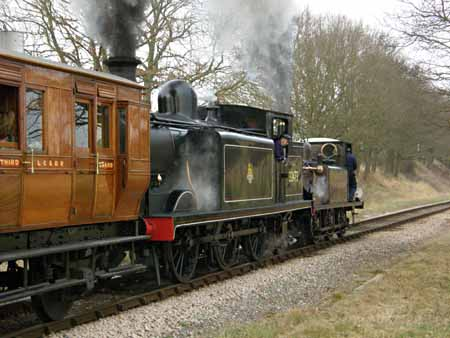 Fenchurch and Birch Grove at BLW - 24 Feb 2008 - Stephen Hunt
