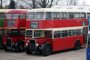 Vintage Buses at SP - 16 November 2008 - Nick Talbot