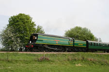 21C123 running as OVS Bulleid - 10 May 2008 - Stephen Hunt
