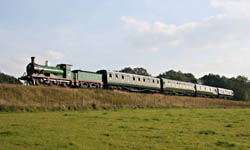 C-class with Vintage train - 21 Sept 2008 - Andrew Strongitharm