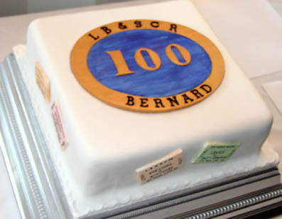 BJH100 cake 2 - 16 March 2008 - Richard Salmon