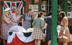 Cake stall at Horsted - 10 May 2008 - Dave Clarke