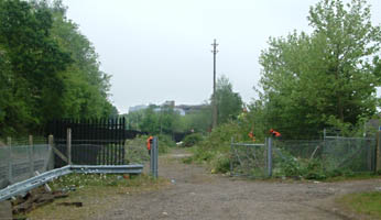 East Grinstead station site - view from the South - 17 May 2008 - David Chappell