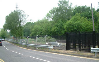 East Grinstead station site - view from the North - 17 May 2008 - David Chappell