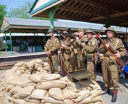 Home Guard at Horsted - 11 May 2008 - Derek Hayward
