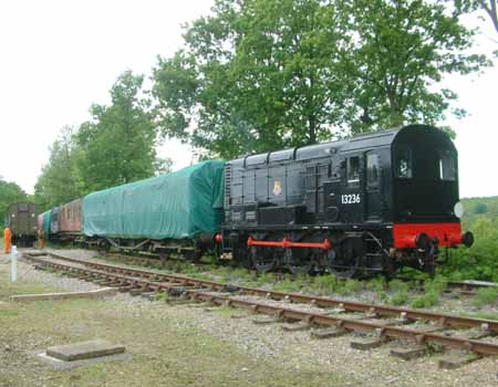 Long-siding shunt at Horsted Keynes - 20 May 2008 - David Chappell