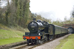 7F emerges from the Tunnel - Martin Lawrence - 16 November 2008