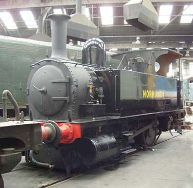 Normandy at Barrow Hill - July 2008 - Chris Gardner
