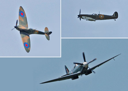 Spitfires over Horsted - 10-11 May 2008 - Derek Hayward