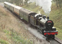 7F on Santa Special - 20 December 2008 - Stephen Hunt