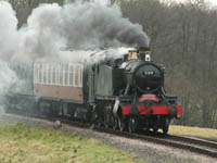 5199 on Santa Special - 20 December 2008 - Stephen Hunt