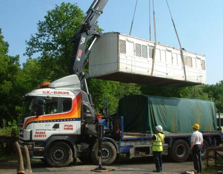 Stroudley 5-compartment third delivered to Horsted - 21 May 2008 - David Chappell