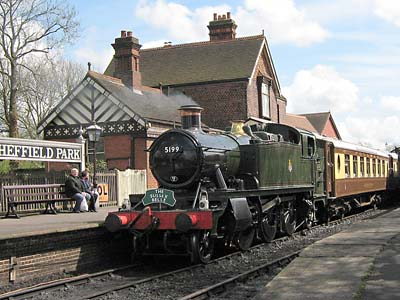 5199 with the Sussex Belle - 1 May 2008 - John Sandys