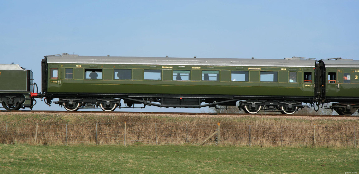 Used Cars Waterloo >> Bluebell Railway Carriages - No.1336