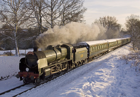 U-class with Santa Special train - 19 December 2009 - Paul Pettitt