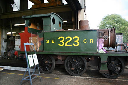 323 enters loco works - 3 September 2009 - Andrew Strongitharm
