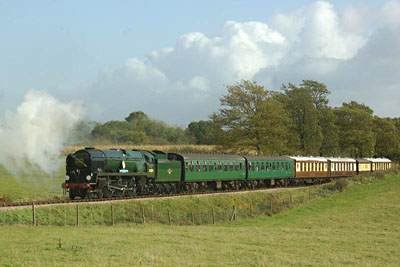 34059 on Freshfield bank - 25 October 2009 - Brian Easter