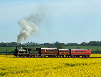 No.65 on a photo charter on the KESR - 1 May 2009 - David Haggar