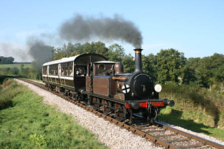 Fenchurch with the Obo on the 3.21 ex Horsted Keynes - 27 September 2009 - Andrew Strongitharm