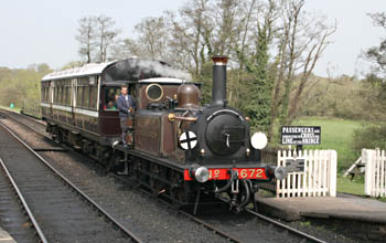 Fenchurch with first Spring Special - 20 April 2009 - Andrew Strongitharm