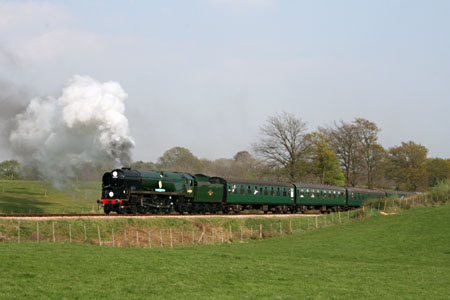 34059 on the 4pm special train on 21 April 2009 - Andrew Strongitharm