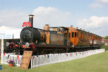 Stepney and Victorian coaches at South of England Show - 11 June 2009 - Tony Sullivan