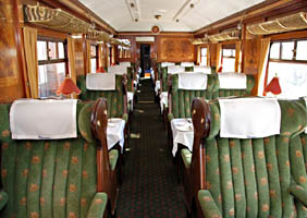 Interior of Car 76 'Lilian' - 12 September 2009 - Derek Hayward