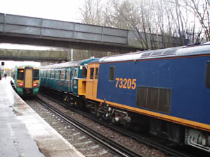 73s arrive to collect the Vep - 22 Jan 2009 - Gavin Bennett